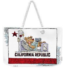 California Is Sick Weekender Tote Bag