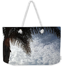 California Palm Tree Half View Weekender Tote Bag