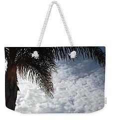 California Palm Tree Half View Weekender Tote Bag by Matt Harang