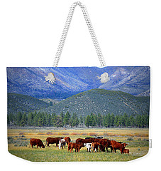 Weekender Tote Bag featuring the photograph California Pastures by Glenn McCarthy Art and Photography
