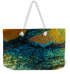 California Pine Bark Abstract Weekender Tote Bag by Bruce Pritchett