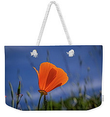 California Poppy Weekender Tote Bag