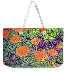 California Poppys Too Weekender Tote Bag