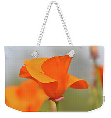 California State Poppy Macro Weekender Tote Bag