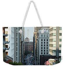 California Street San Francisco Weekender Tote Bag