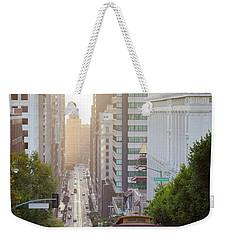 California Street Sunrise Weekender Tote Bag
