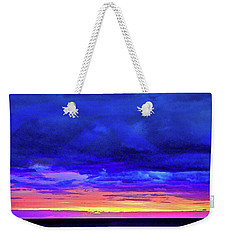 Weekender Tote Bag featuring the painting California Sunrise by Joan Reese