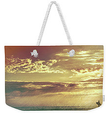 California Sunset Surfer Weekender Tote Bag