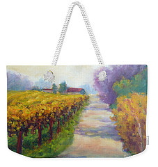 California Wine Country Weekender Tote Bag