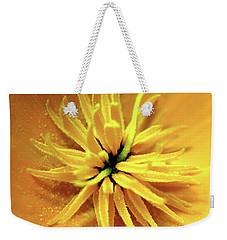 Californian Poppy Macro Weekender Tote Bag