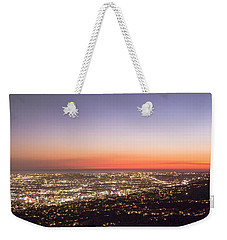 Californian Sunset Weekender Tote Bag