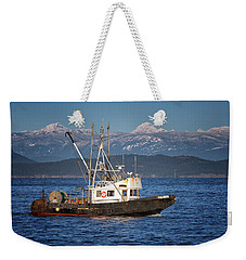 Weekender Tote Bag featuring the photograph Caligus by Randy Hall
