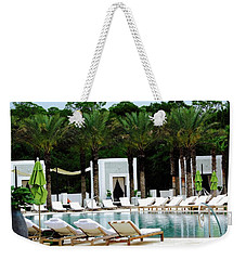 Caliza Pool In Alys Beach Weekender Tote Bag