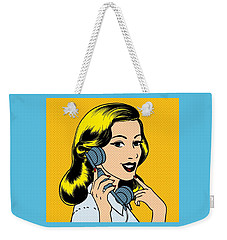 Call Me Weekender Tote Bag by Now