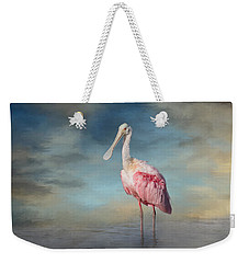 Call Me Rosy Weekender Tote Bag by Kim Hojnacki