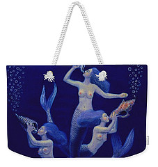 Call Of The Mermaids Weekender Tote Bag