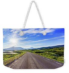 Call Of The Road Weekender Tote Bag