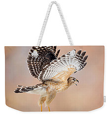 Weekender Tote Bag featuring the photograph Call Of The Wild Square by Bill Wakeley