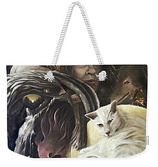 Call To The Spirits Weekender Tote Bag