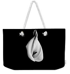 Calla Challenge In Black And White Weekender Tote Bag