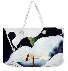 Calla Lilies.. Weekender Tote Bag