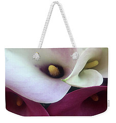 Calla Lilies Portland Farmers Market Weekender Tote Bag