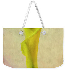 Calla Lilly Echo Flower Weekender Tote Bag