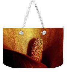 Calla Lily Weekender Tote Bag by Ana Mireles