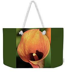 Calla Sunbathing. Weekender Tote Bag by Terence Davis