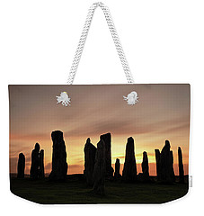 Callanish Stones Weekender Tote Bag