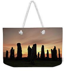 Callanish Stones Weekender Tote Bag
