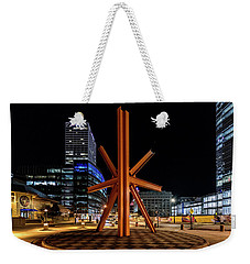 Calling After Sundown Weekender Tote Bag