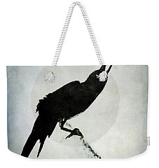 Calling To The Moon Weekender Tote Bag