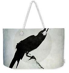 Calling To The Moon Weekender Tote Bag