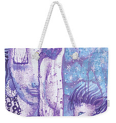 Calling Upon Spirit Animals Weekender Tote Bag