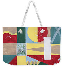 Calm And Chaos Weekender Tote Bag