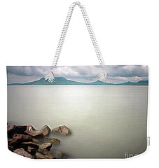 Calm At The Lake Weekender Tote Bag