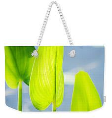 Calm Greens Weekender Tote Bag