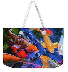 Calm Koi Fish Weekender Tote Bag