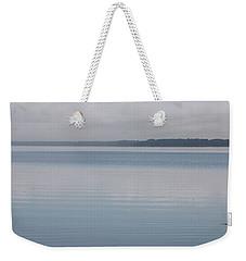 Calm Lake Weekender Tote Bag