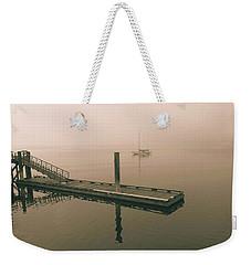 Weekender Tote Bag featuring the photograph Calm by Mark Alan Perry