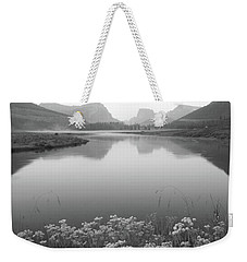 Weekender Tote Bag featuring the photograph Calm Morning  by Dustin LeFevre