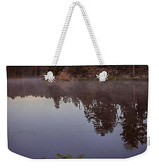 Weekender Tote Bag featuring the photograph Calm Morning by Steven Reed