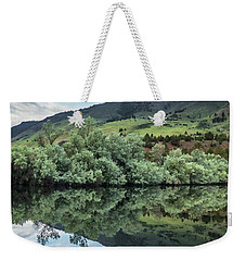 Calm Pond - Cloud Reflections II Weekender Tote Bag