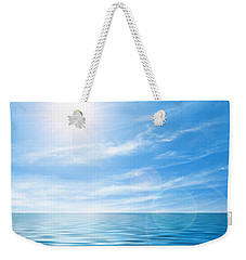 Calm Seascape Weekender Tote Bag by Carlos Caetano