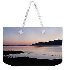 Calm Sunset Loch Scridain Weekender Tote Bag