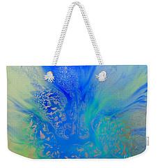 Calm Waters Abstract Weekender Tote Bag