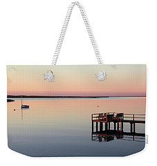 Weekender Tote Bag featuring the photograph Calm Waters by Roupen  Baker
