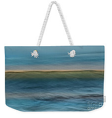 Calming Blue Weekender Tote Bag