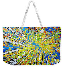 Calming Canopy Weekender Tote Bag by Jackie Carpenter